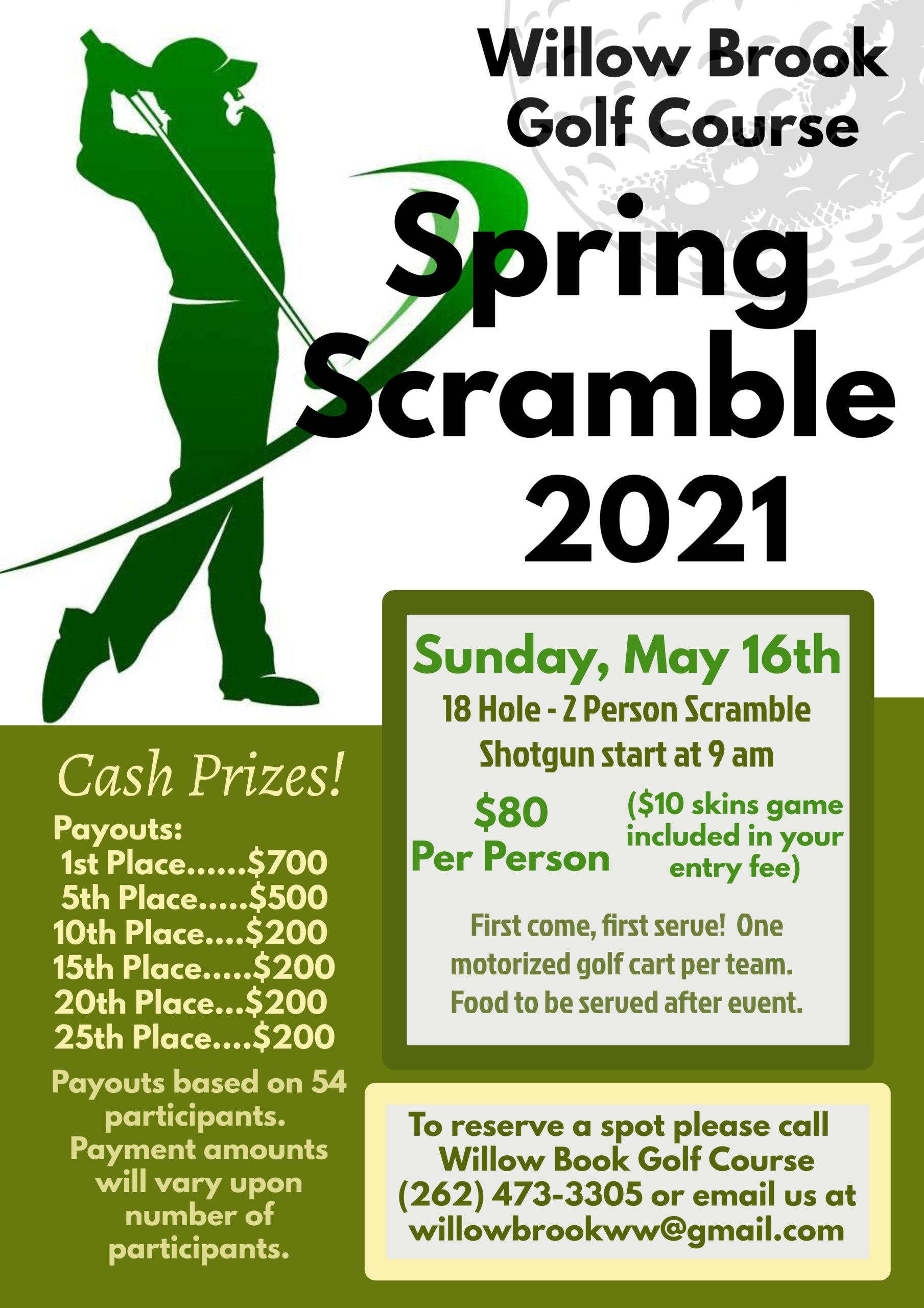 spring scramble 2021